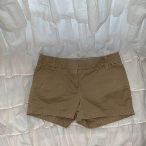 J. Crew Chino Khaki Shorts